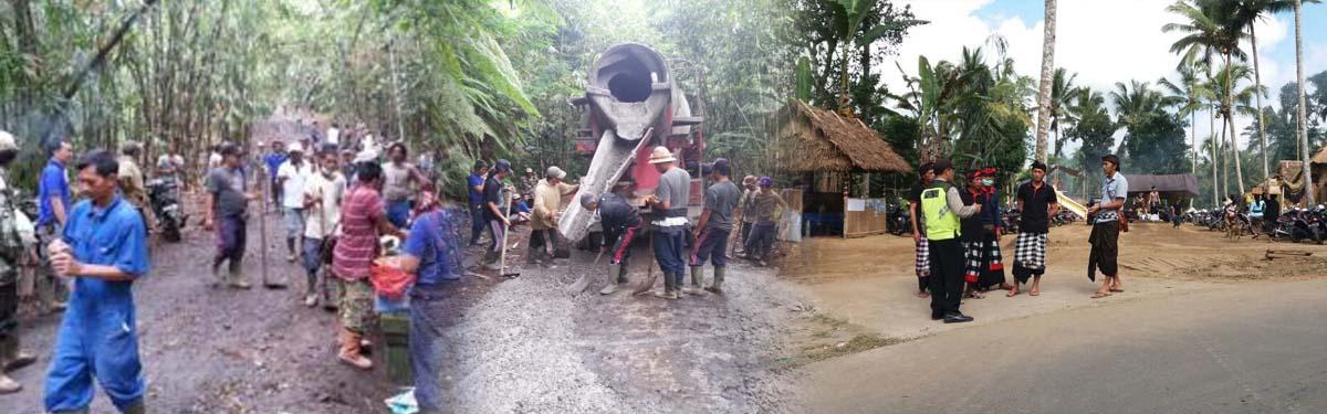 Meninggalkan Desa Lama Memulai Desa Baru