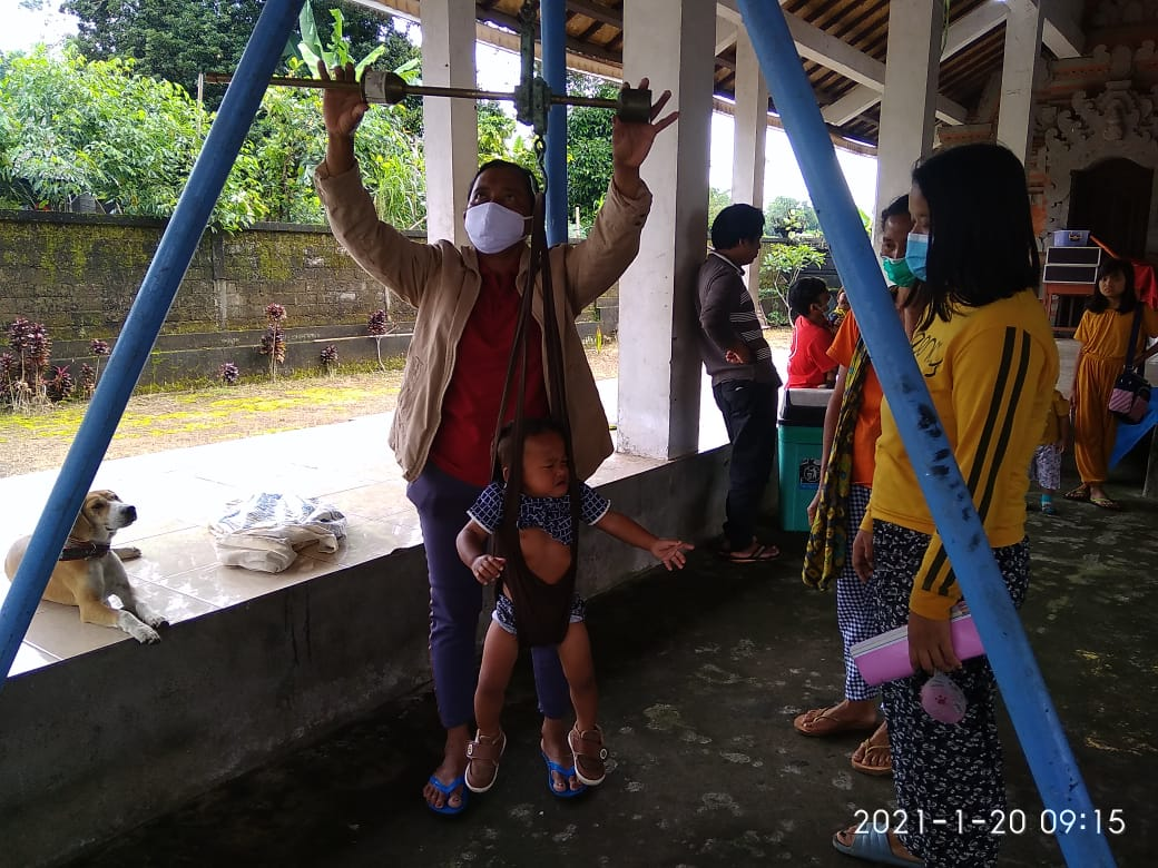 Posyandu Anggrek Desa Adat Malet Tengah
