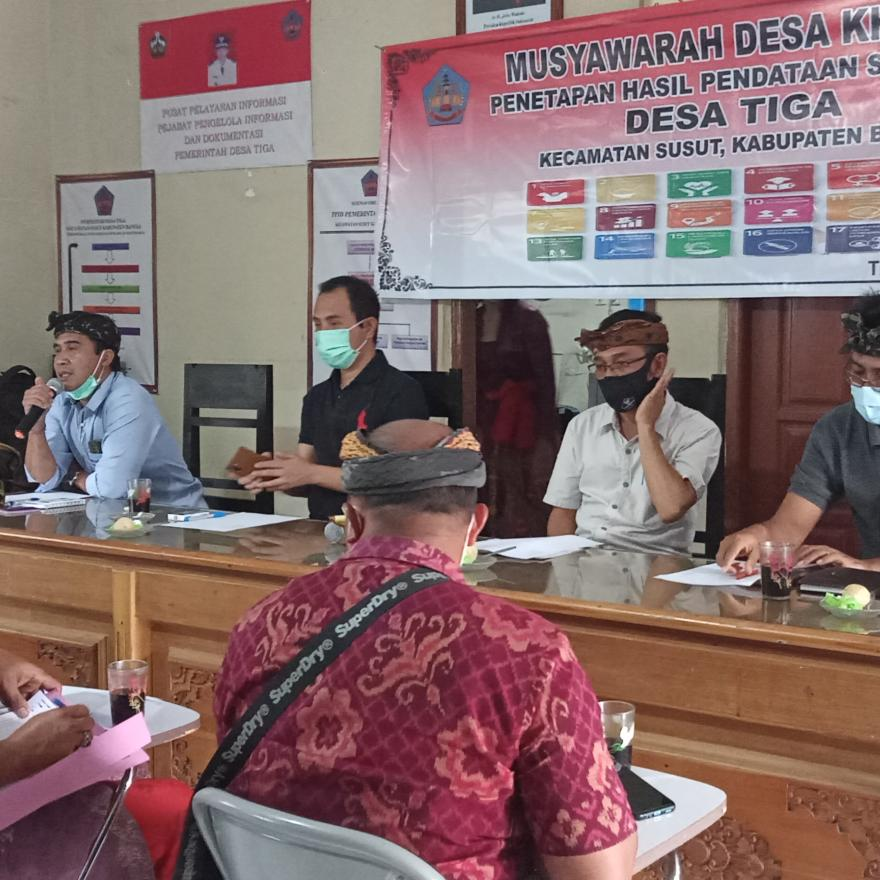 Musdes Khusus Penetapan Hasil SDGs Desa